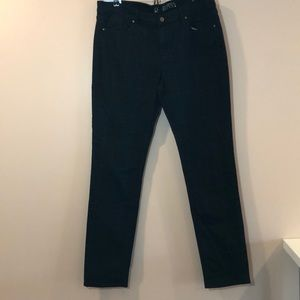 NY & Co Skinny Plaid Jeans NWT